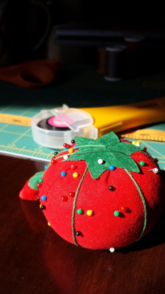 sewing, pincushion