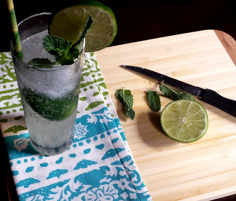 mojito recipe with mint simple syrup