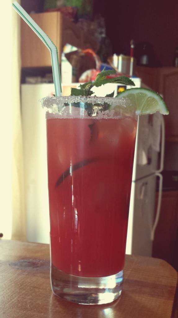 watermelon agua fresca with vodka recipe
