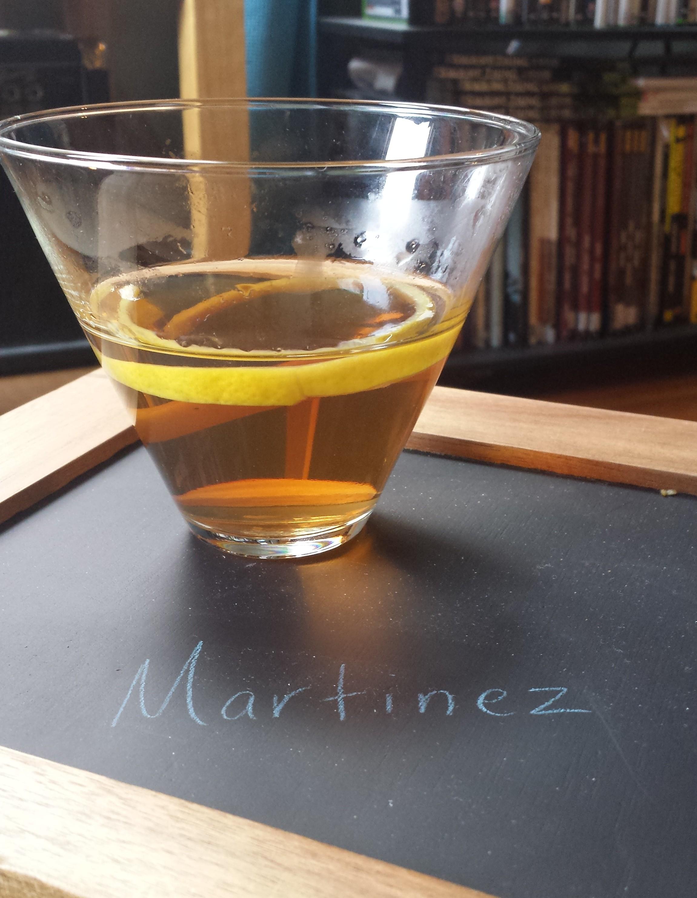 martini the martinez cocktail pre bottled cocktails master of malt the ...