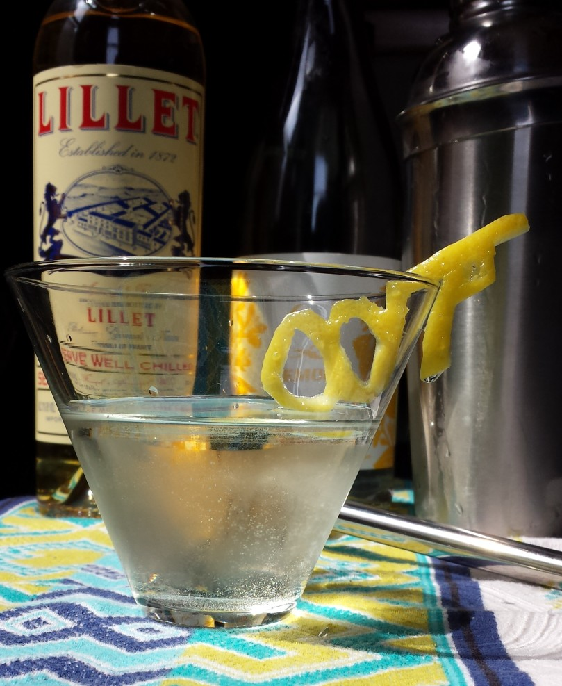007 Bubbly Vesper Martini