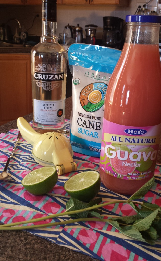 guava mojito ingredients