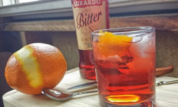 Luxardo Bitter Negroni recipe