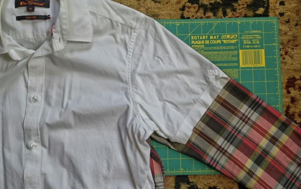 Salvage A Long Sleeve By Turning It Into A Short Sleeve