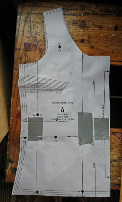 Colette Sorbetto pattern