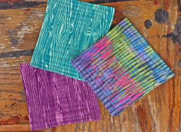 sew quilted coasters
