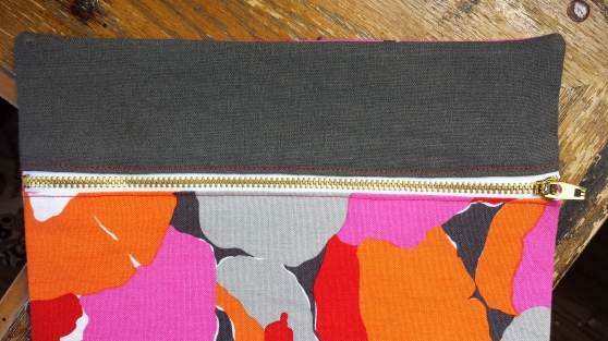 sewing portside pouch by grainline studio