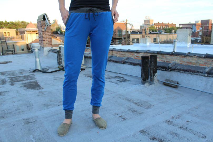 blue hudson pant