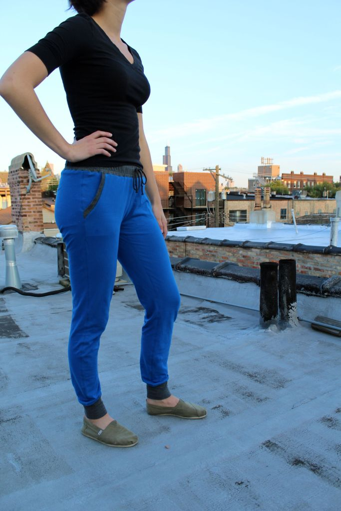 hudson blue pant side view