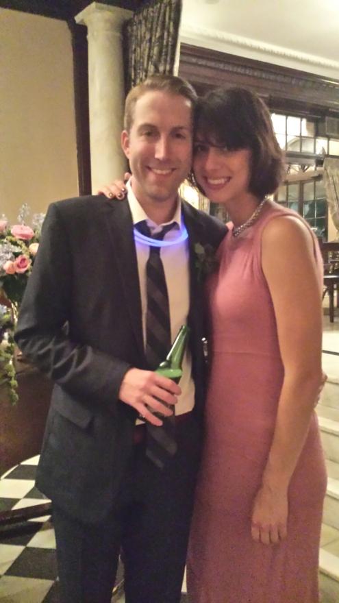 Jon and Bianca's wedding