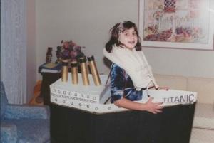titanic Halloween costume 1998