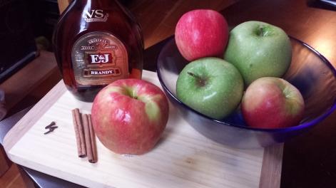 DIY apple brandy