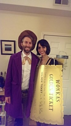 wonka and the golden ticket