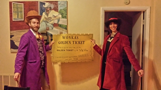 sew your own Willy Wonka costumes