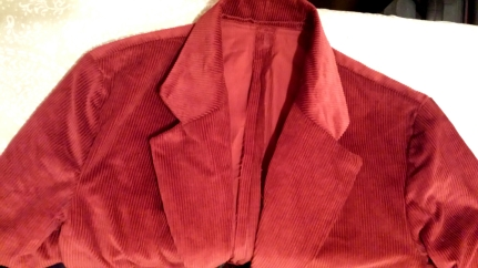 Red Willy Wonka Jacket