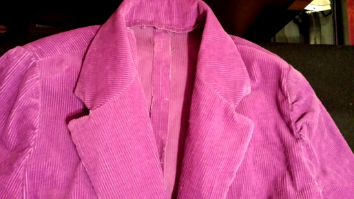 Purple Willy Wonka Coat