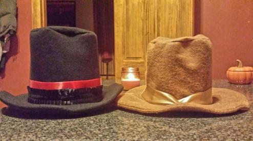 felt top hats