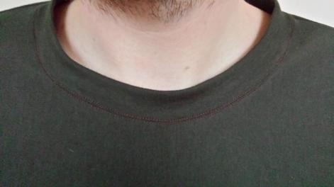 strathcona men's t-shirt neckline
