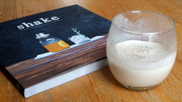 easy eggnog recipe from Shake