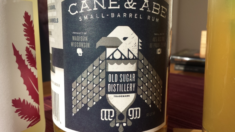 cane & abe small barrel rum for a dark and stormy
