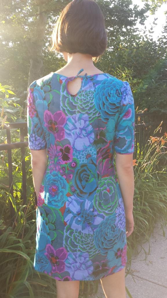 colette patterns floral laurel