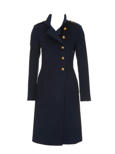 long wool coat burda