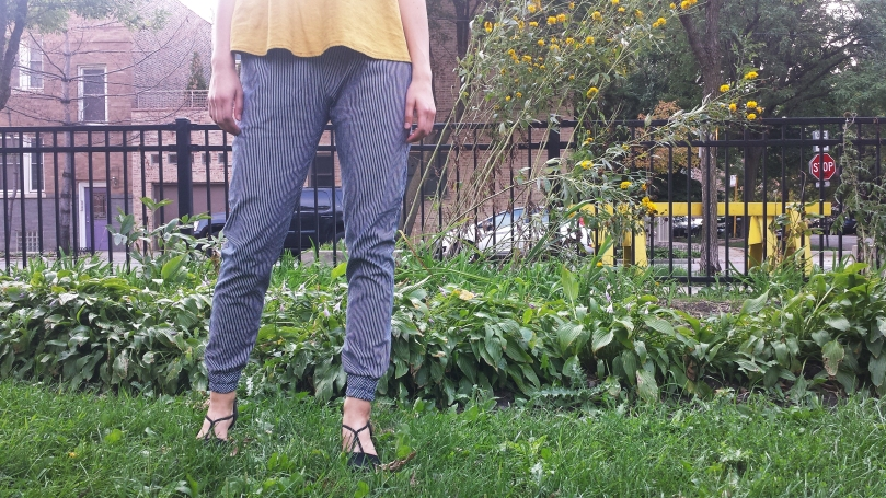 woven hudson pants true bias bottom half