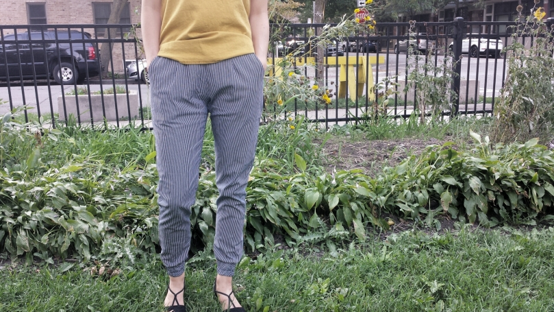 woven hudson pants