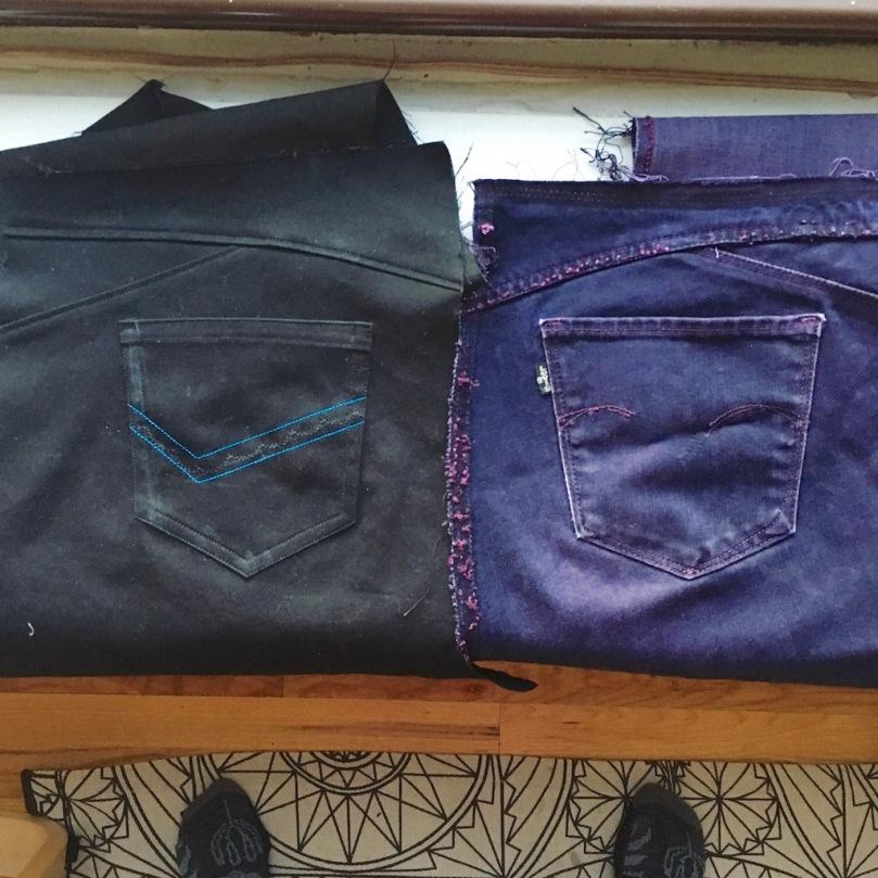 RTW jeans copy