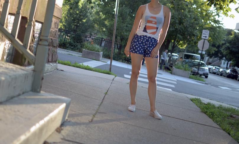maritime shorts full angle