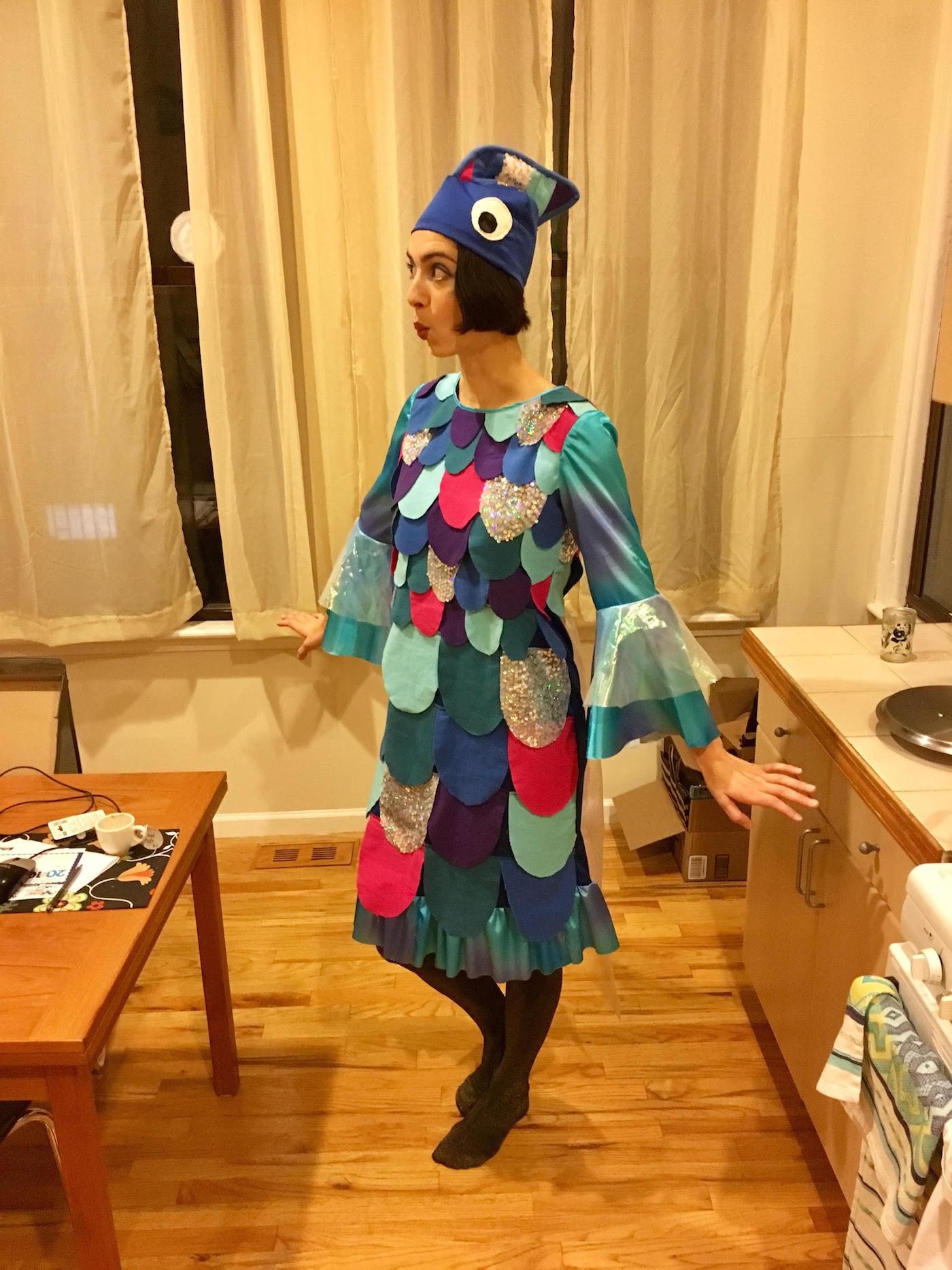 rainbow fish costume 1 & Happy Halloween from Rainbow Fish! u2013 Sewing u0026 Cocktails