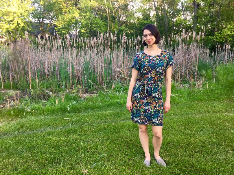 coram dress pattern review