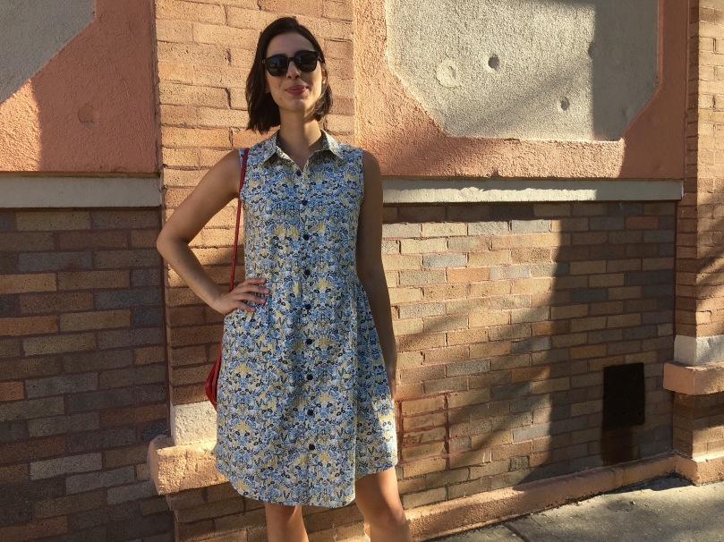 alder shirt dress grainline