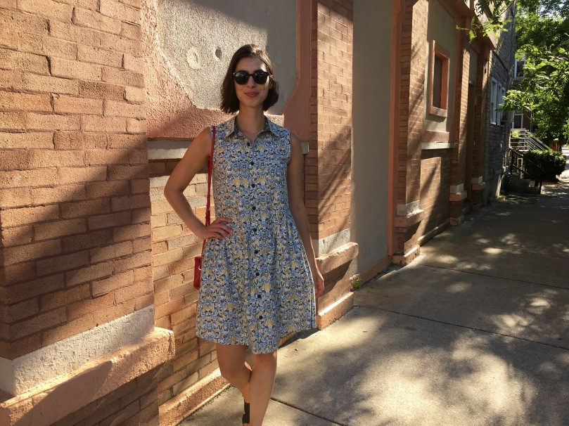 alder shirtdress grainline studio