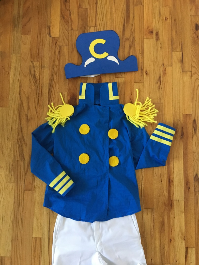 anatomy of a DIY capn crunch costume