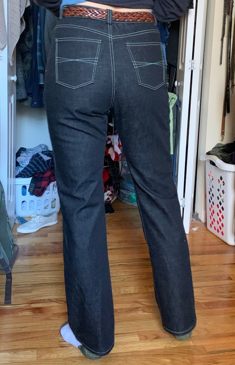 MN dawn jeans straight leg with belt