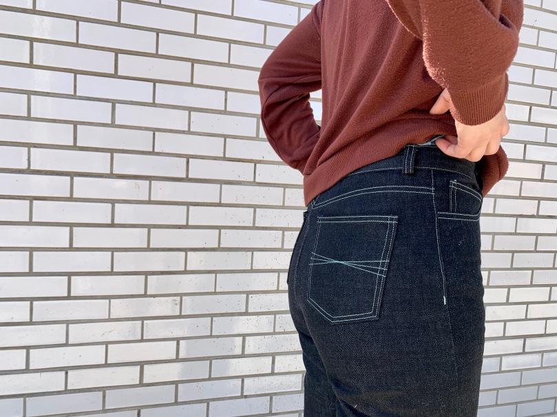 MN dawn jeans back close